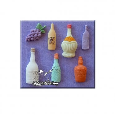 Assorted Bottles Silicone Moulds