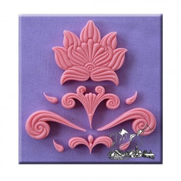 Design Elememts 3 Silicone Moulds