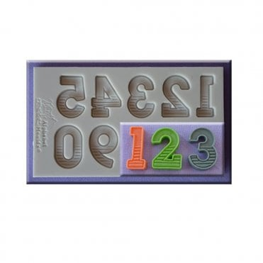 Gradient Fill Numbers Silicone Moulds