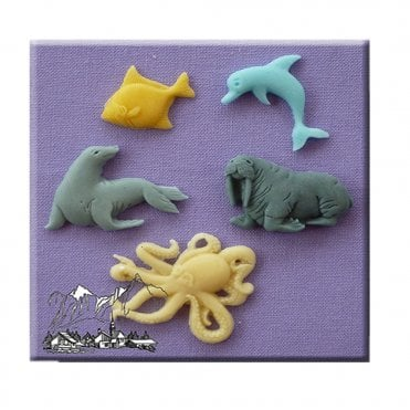 Sea Creatures Silicone Moulds