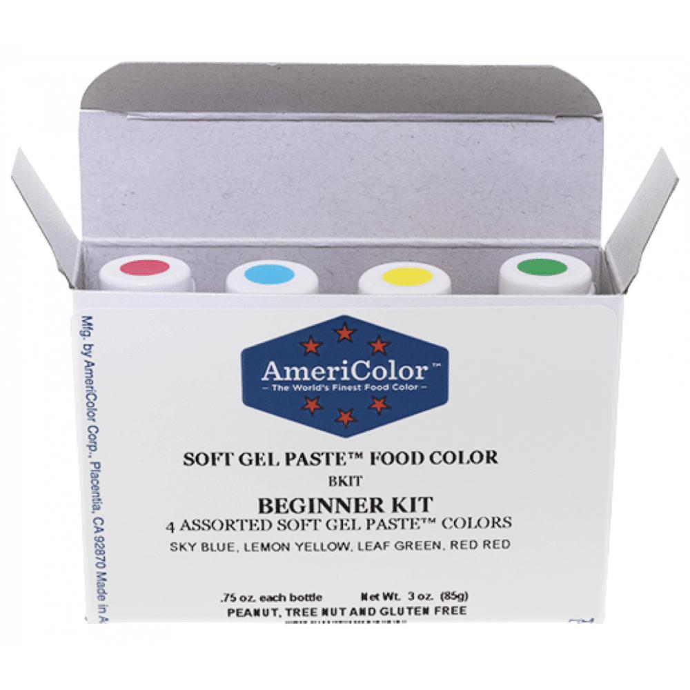 Beginner Kit Soft Gel Paste Colour 0 75oz