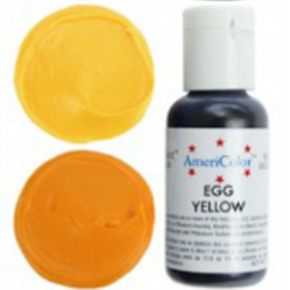 Egg Yellow - Soft Gel Paste Food/Icing/Buttercream Colouring