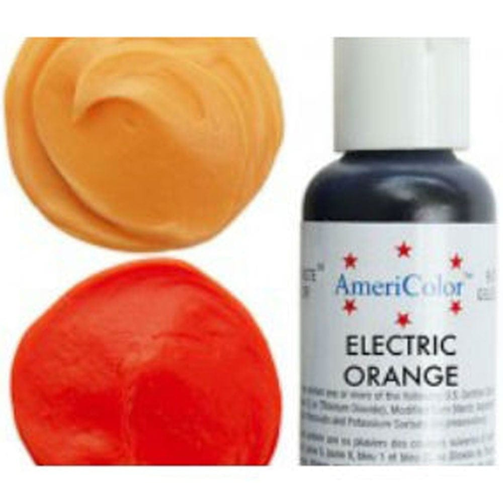 Electric Orange - Soft Gel Paste Food/Icing/Buttercream Colouring