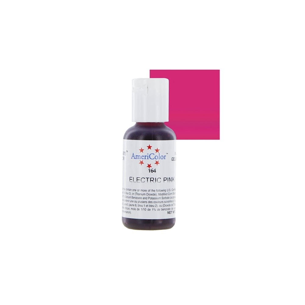 Americolor - ELECTRIC PINK - Soft Gel Paste Icing Food Colouring 13.5oz