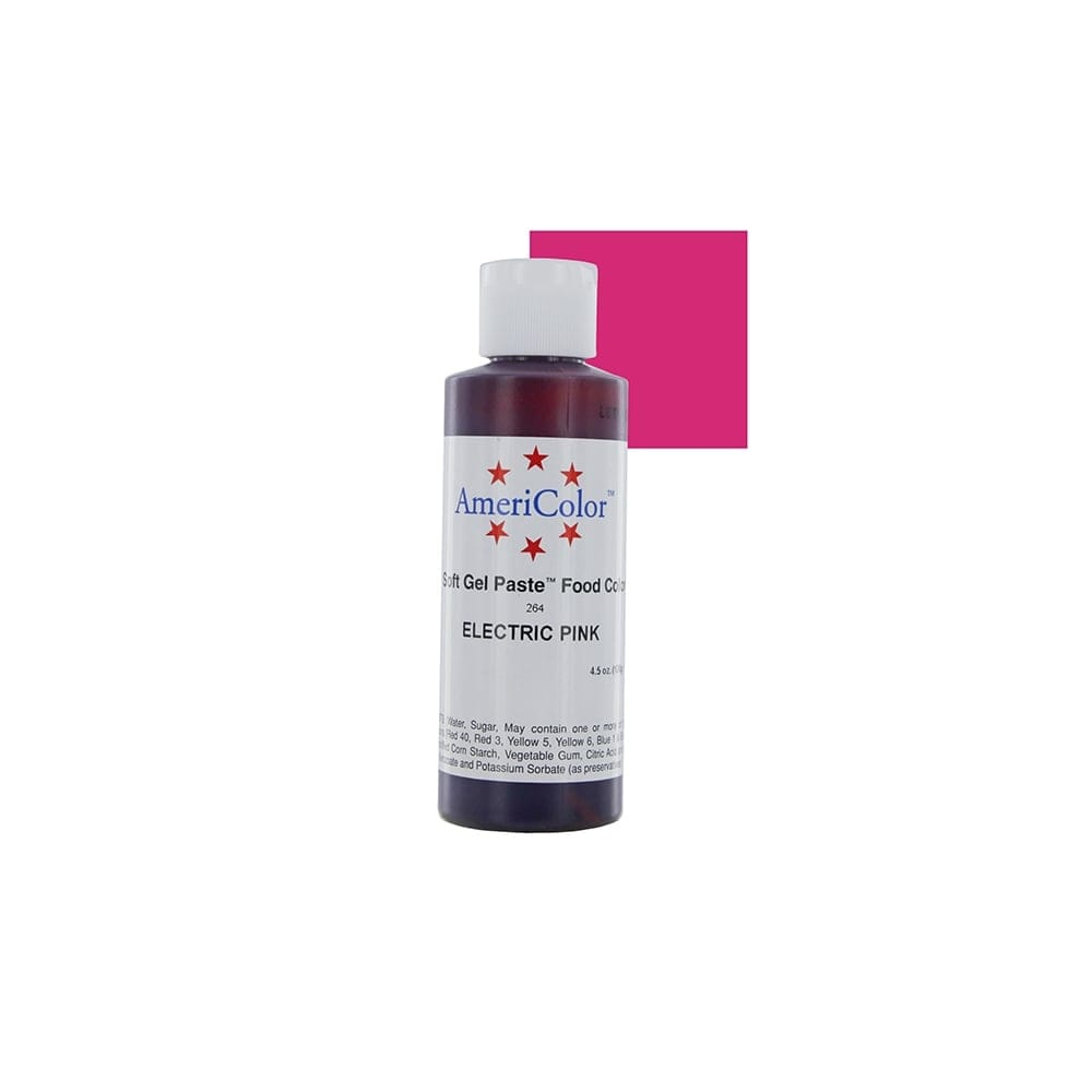 Electric Pink Soft Gel Paste Food Icing Buttercream Colouring