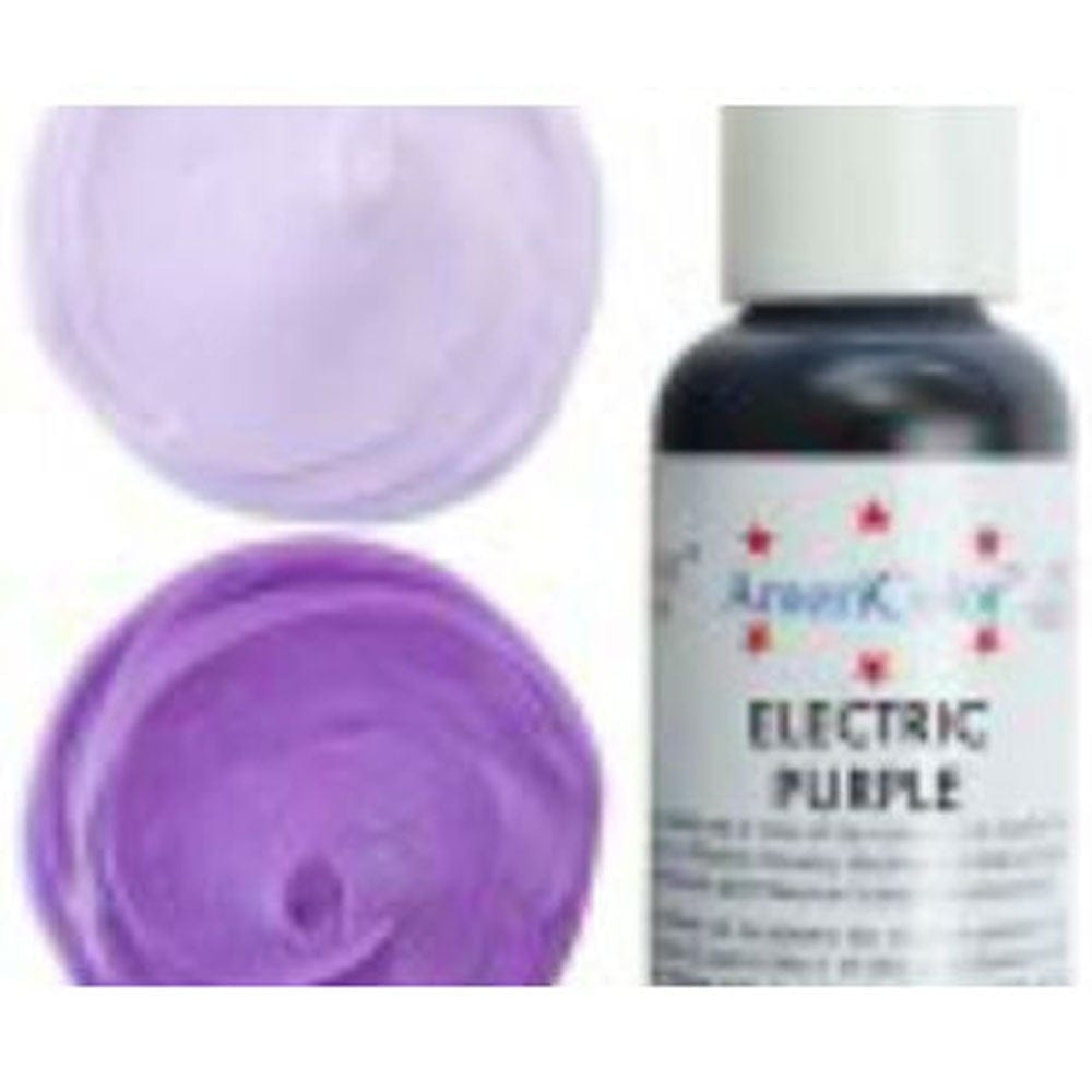 Americolor - ELECTRIC PURPLE - Soft Gel Paste Icing Food Colouring ...