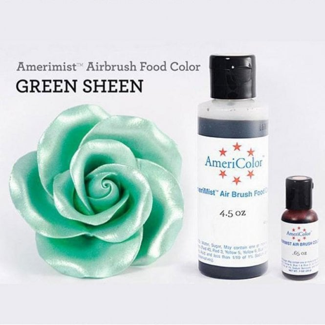 Americolor Green - Sheen AmeriMist™ Airbrush Colour - Choose Your Sizes