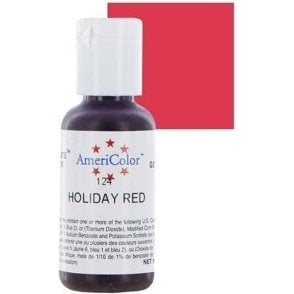 Holiday Red - Soft Gel Paste Food/Icing/Buttercream Colouring