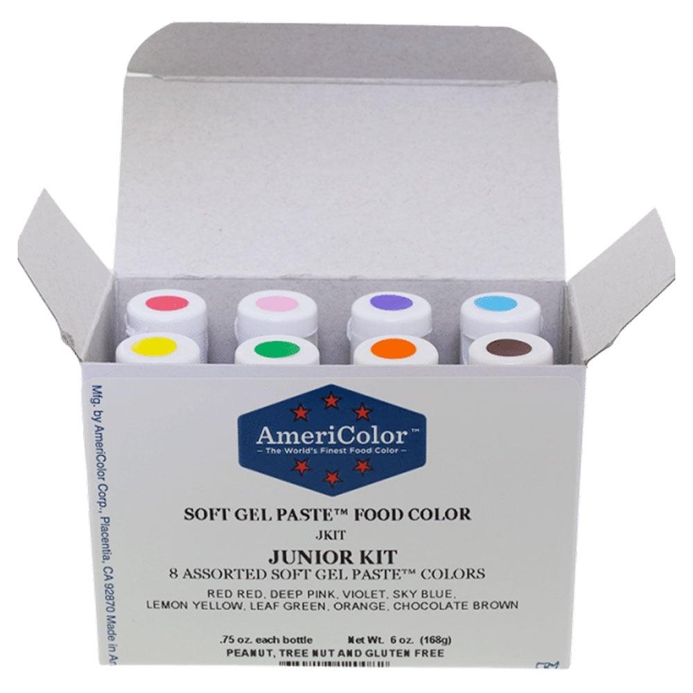 Junior Kit - Soft Gel Paste Colour 0.75oz