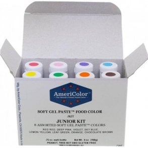 Junior Kit - Soft Gel Paste Colour 0.75oz