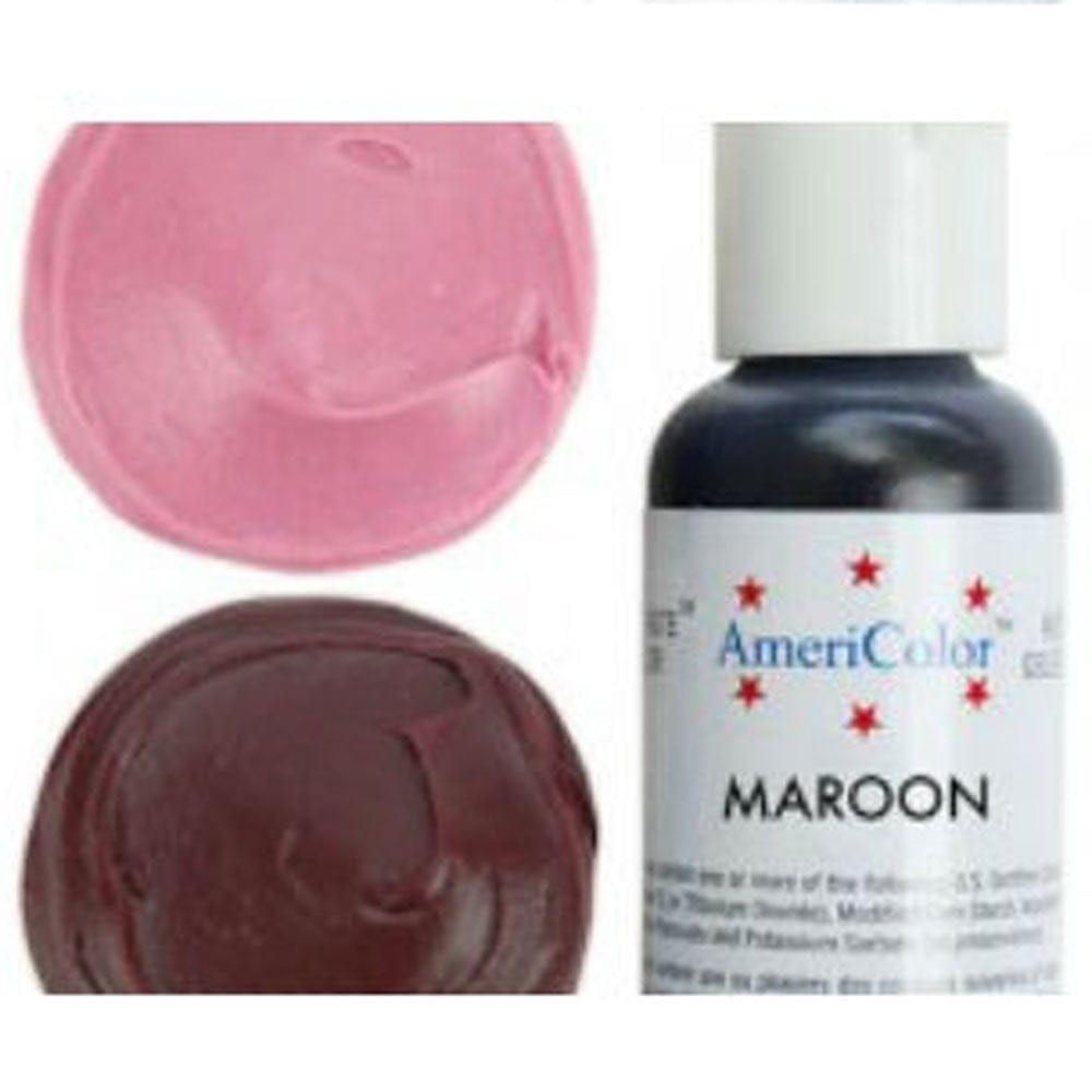 Maroon - Soft Gel Paste Food/Icing/Buttercream Colouring