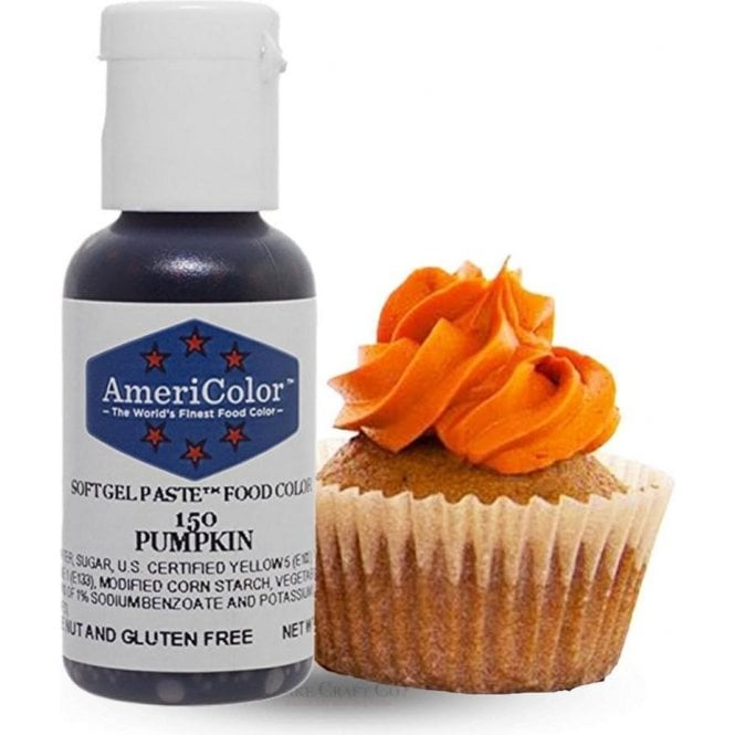 Americolor Pumpkin - Soft Gel Paste Food/Icing/Buttercream Colouring