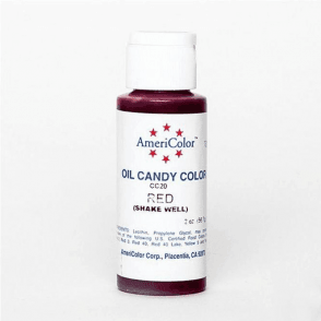 Red Oil-Based Candy Colour 2oz