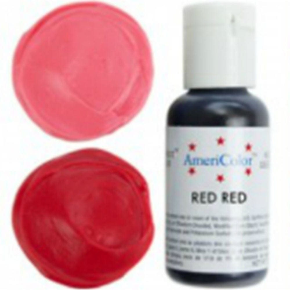 Americolor - RED RED - Soft Gel Paste Icing Food Colouring 4.5oz
