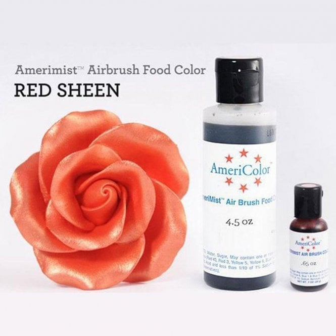 Americolor Red - Sheen AmeriMist䋢 Airbrush Colour - Choose Your Sizes