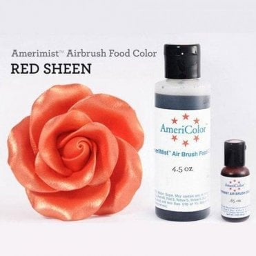 Red - Sheen AmeriMist Airbrush Colour - Choose Your Sizes