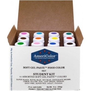 Student Kit 1 - Soft Gel Paste Colour 0.75oz