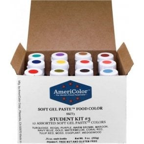 Student Kit 3 - Soft Gel Paste䋢 Colour 0.75oz