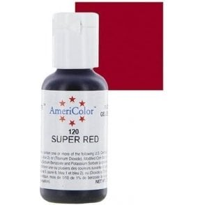 Super Red - Soft Gel Paste Food/Icing/Buttercream Colouring