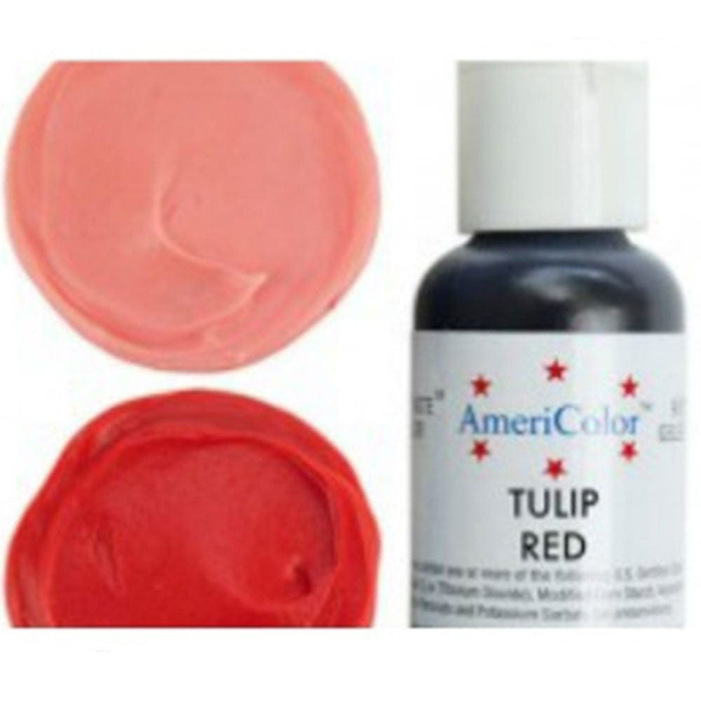 Americolor - TULIP RED - Soft Gel Paste Icing Food Colouring 4.5oz