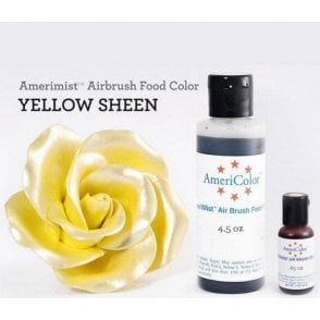 Yellow - Sheen AmeriMist™ Airbrush Colour - Choose Your Sizes