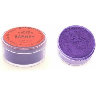 "BARNEY ""Red Label"" 100% Edible Food Colour/Paint/Dust - Choose Your Size"