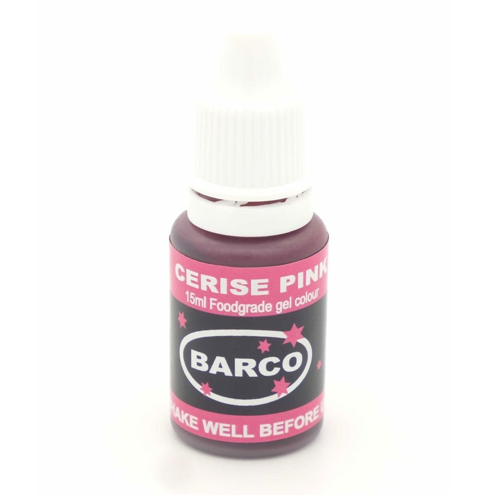 Barco Cerise Pink - Super-Concentrated LIQUID GEL Colour 15ml