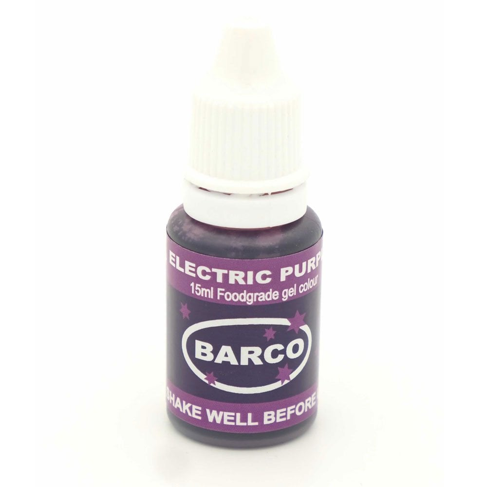 Barco Electric Purple - Super-Concentrated LIQUID GEL Colour 15ml