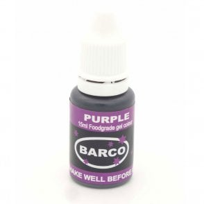 Purple - Super-Concentrated LIQUID GEL Colour 15ml