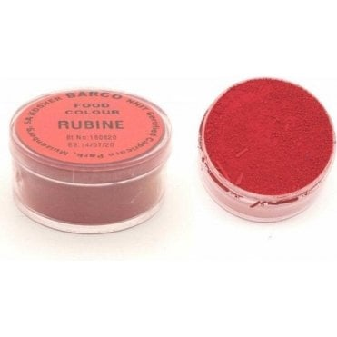 "RUBINE ""Red Label"" 100% Edible Food Colour/Paint/Dust - Choose Your Size"