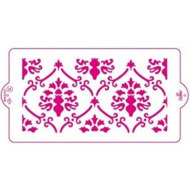 Baroque - Cake Decorating Stencil 15 x 30cm