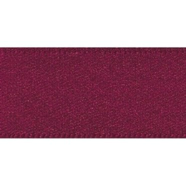 Burgundy - Double Faced Satin Cake Ribbon - available by the metre