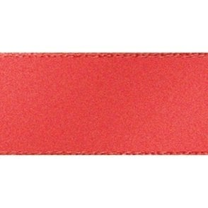 Coral - Double Faced Satin Cake Ribbon - available by the metre