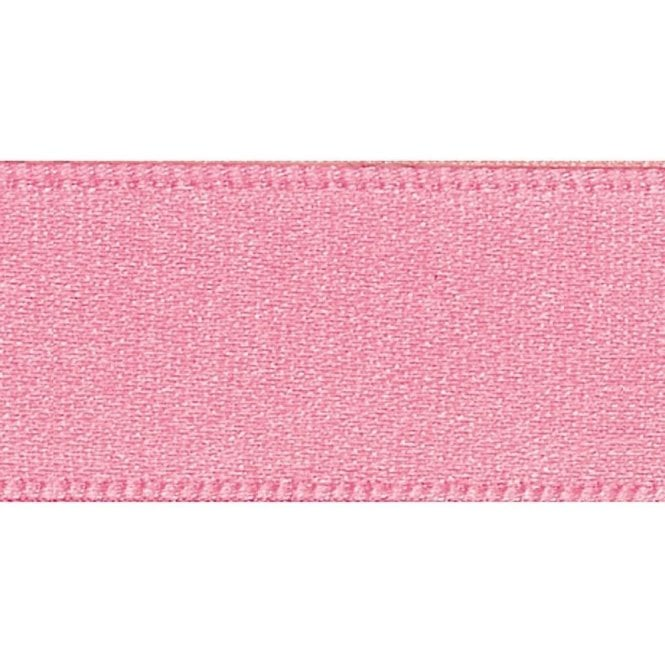 Berisford Ribbon Dark Rose - Double Faced Satin Cake Ribbon - available by the metre