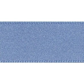 Dusky Blue - Double Faced Satin Cake Ribbon - available by the metre