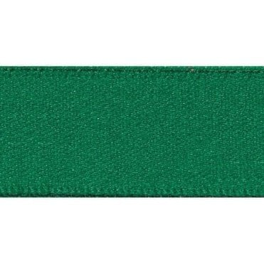 Hunter Green - Double Faced Satin Cake Ribbon - available by the metre