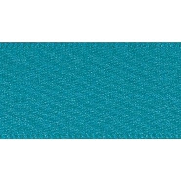 Malibu Blue - Double Faced Satin Cake Ribbon - available by the metre