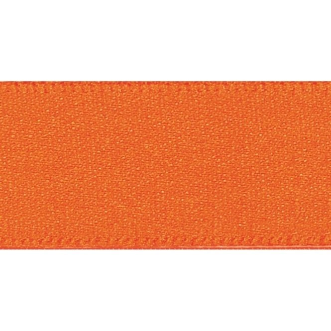 Berisford Ribbon Orange Delight - Double Faced Satin Cake Ribbon - available by the metre
