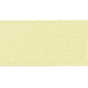 Pale Lemon - Double Faced Satin Cake Ribbon - available by the metre