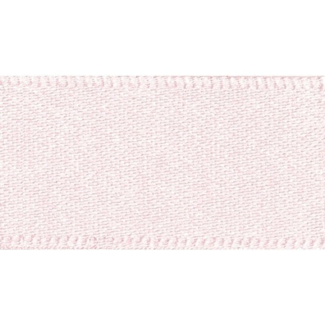 Berisford Ribbon Pale Pink - Double Faced Satin Cake Ribbon - available by the metre