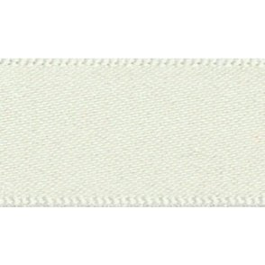 Pearl White Double Faced Satin Cake Ribbon - available by the metre
