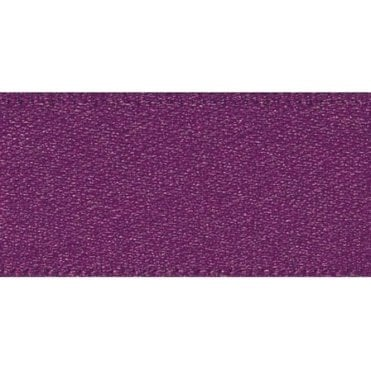 Plum - Double Faced Satin Cake Ribbon - available by the metre