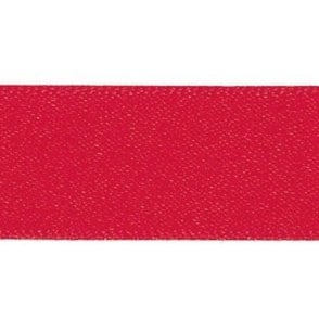 Poppy Red - Double Faced Satin Cake Ribbon - available by the metre