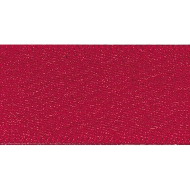 Berisford Ribbon Scarlet Berry - Double Faced Satin Cake Ribbon - available by the metre