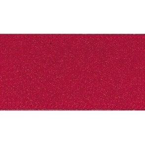 Scarlet Berry - Double Faced Satin Cake Ribbon - available by the metre