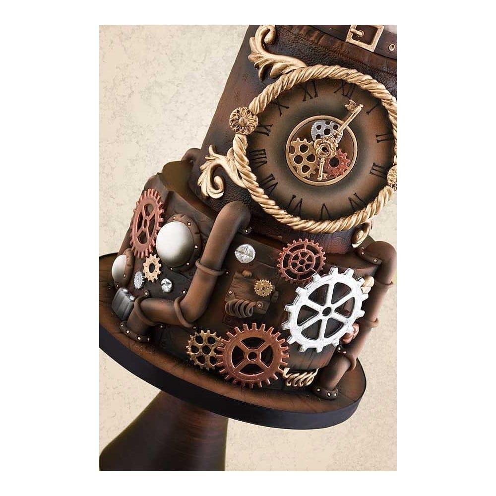Steampunk Gear Clog Plunger Cutters