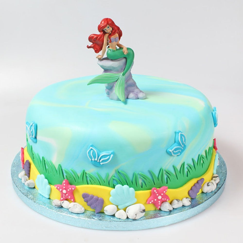 Little Mermaid Cake Decorating Supplies  from www.cakecraftcompany.com