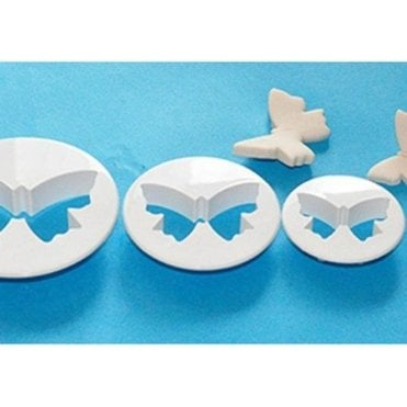Butterfly Cutter - Set of 3