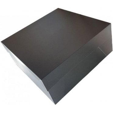 "12"" MATT BLACK Cake Box (Base & Lids) *MULTI-BUY DISCOUNTS*"