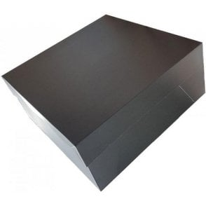 "8"" MATT BLACK Cake Box (Base & Lids) *MULTI-BUY DISCOUNTS*"